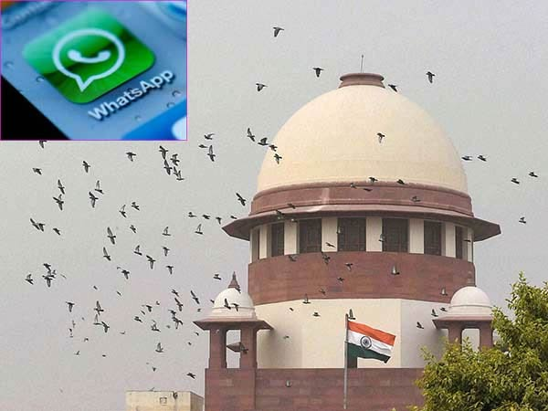 Supreme Court issues notice to Centre and WhatsApp over not appointing grievance officer