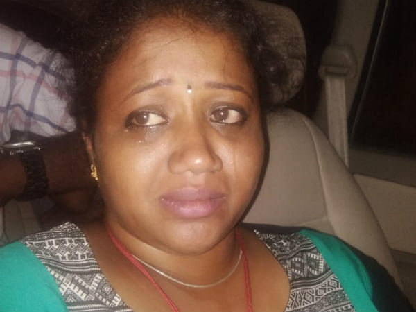 Abirami pawned her holy chain for going to Nagercoil
