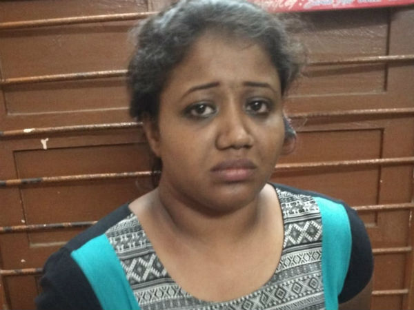 Abirami cries on thinking of her kids while she was arrested