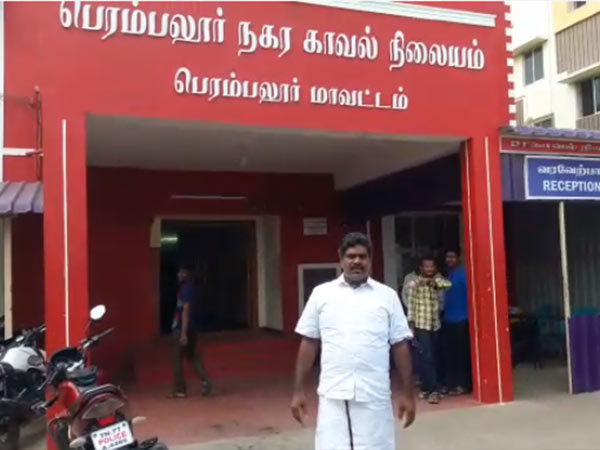 DMK EX councilor Selvakumar arrested over Perambalur beauty parlour attack