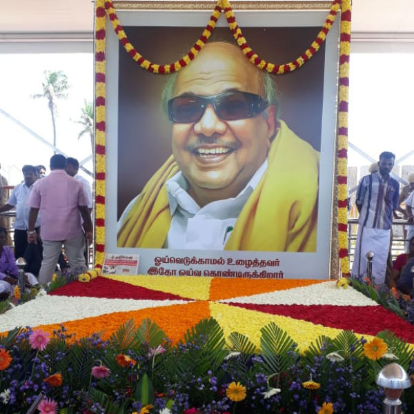 Poets pays homage to Karunanidh today in Chennai