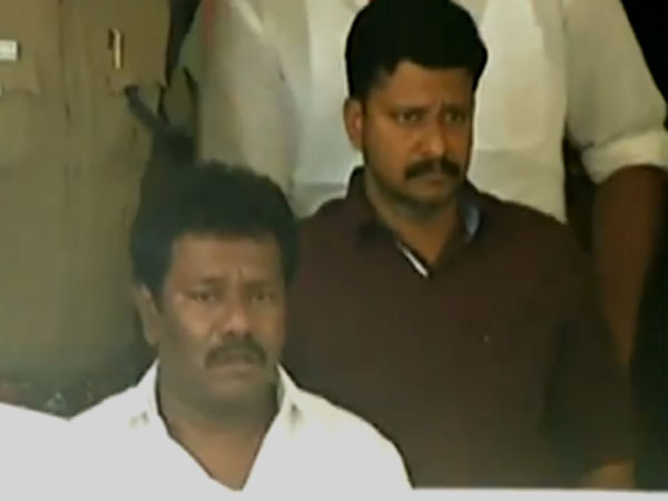 Karunas is taken to Egmore Court Judges house