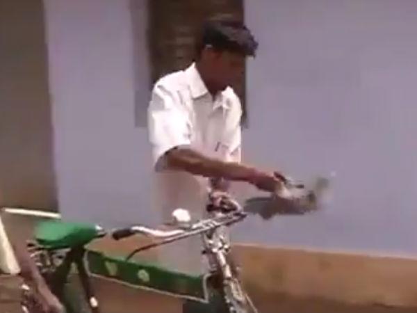 அந்த ஜாதிக்காரனா.. செருப்பை கையில்  தூக்கு.. சைக்கிளை விட்டு இறங்கு..  இது மதுரை சம்பவம்!