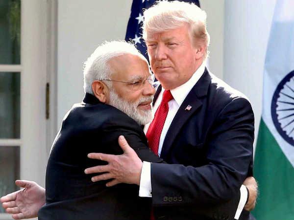 இந்தியாவை நேசிக்கிறேன்... மோடிக்கு என் அன்பை தெரிவியுங்கள்.. நண்பேன்டா டிரம்ப்!