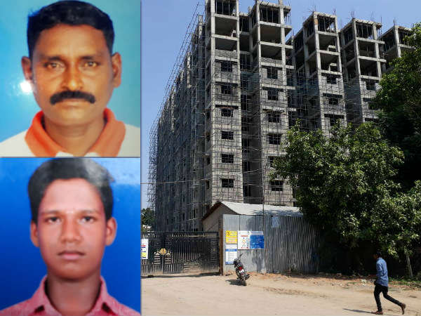 Two laborors dead after falling down from 10th floor in Chennai Saidapet