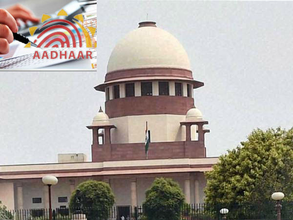 Supreme court delivers judgement today on the Aadhar is mandatory