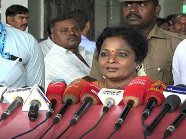 Bharath Bandh: Congress is the reason for Petrol/ Diesel hike says Tamilisai