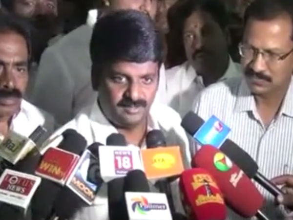 Vijayabaskar will be sacked from his post