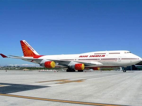 Air India air hostess falls off an aircraft