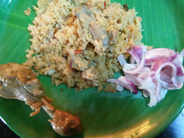 Sunday Special food Briyani