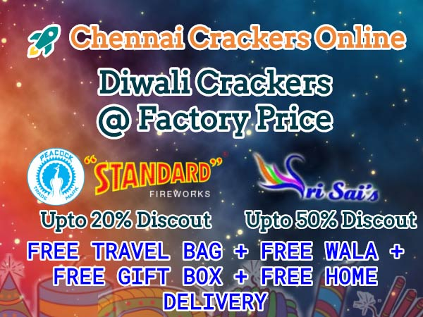 Chennai Crackers Online gives massive offers amidst Deepavali