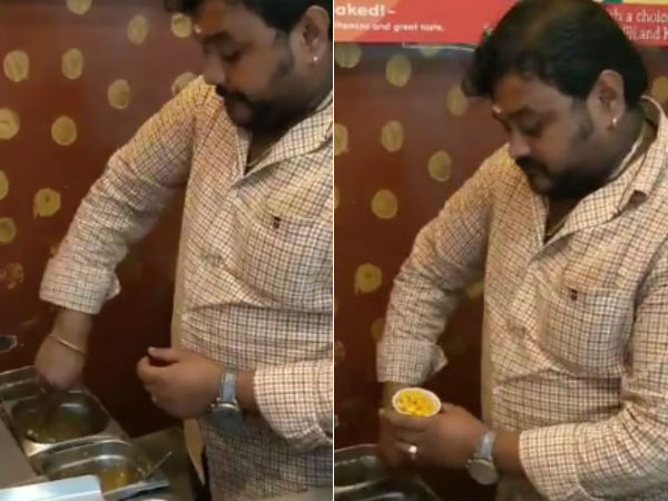 This man in Coimbatore creates music as he serves sweet corn to his customers