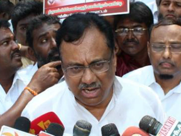 EVKS Elangovan condemns Governor and warns Centre