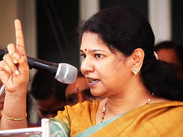 DMK MP Kanimozhi supports Me Too campaign