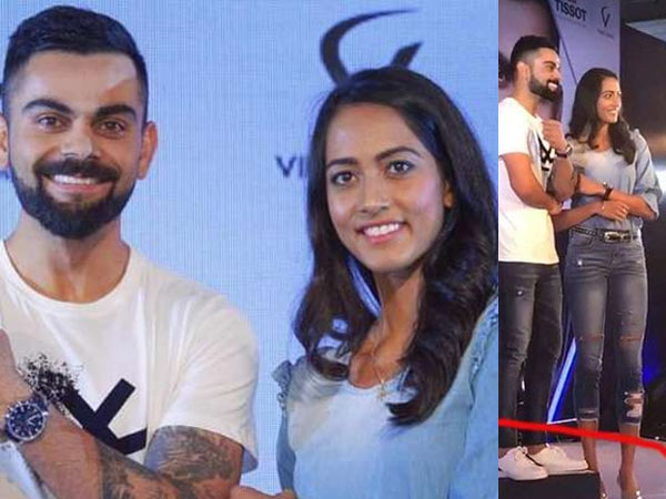 Kohli height becomes controversy after his photo with Karman Kaur Thandi