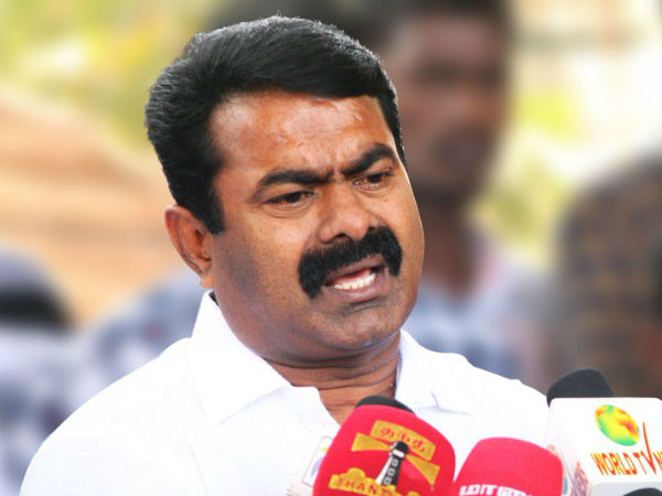 Seeman condemns the arrest of Nakkheeran Editor R Gopal