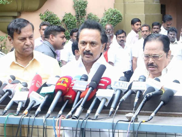 DMK members hold High-Performance Planning Committee Meeting in Chennai