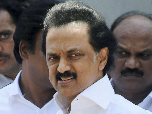 MK Stalin saddens of Shankar demise