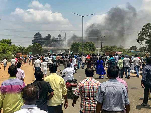 Case filed against 20 in Sterlite protest by CBI