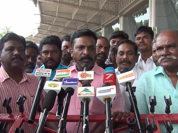 The recent press release of the Governors Houses is waste of time: Thol Thirumavalavan