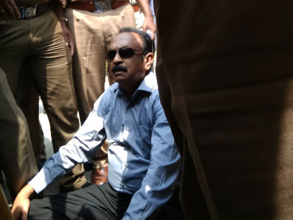 Vaiko slams Governor and Police for arresting Nakkeeran Gopal