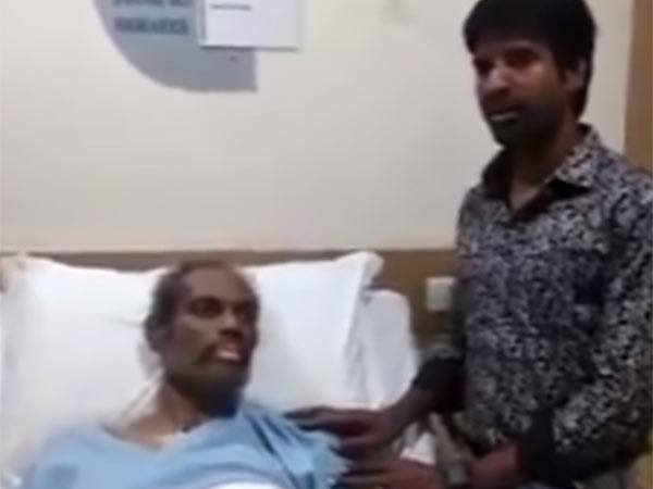 Actor Soori met NelJayaraman at hospital
