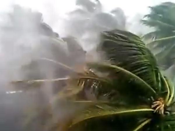 கஜா.. 100 கி.மீ வேகத்தில் காற்று வீசும்.. 3 அடிக்கு கடல் நீர் மட்டம் உயரும்: வானிலை மையம்