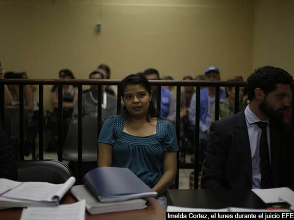 El Salvador woman's ordeal: Victim jailed for 20 years!