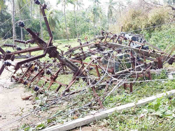 Gaja Storm: No electricity for last two days in Trichy surroundings