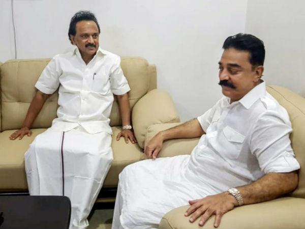 கமல்ஹாசனுக்கு போனில் அழைத்து பிறந்த நாள் வாழ்த்து சொன்ன ஸ்டாலின் | DMK  Chief M.K.Stalin greets Kamal Haasan - Tamil Oneindia