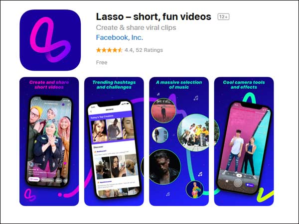 Facebook launched lasso app