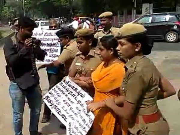 law student Nandhini arrested