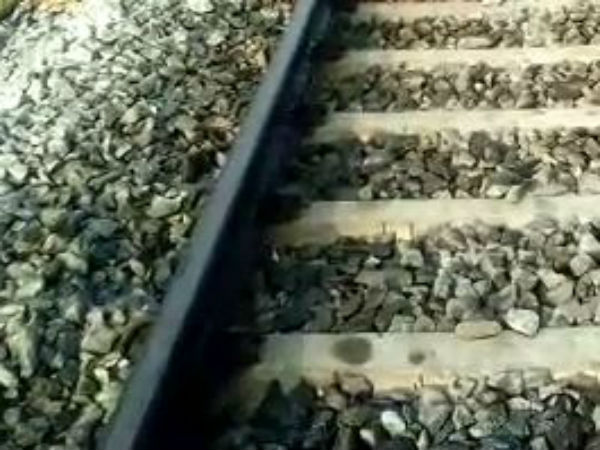 Lovers commits suicide by hitting in Train near Chittoor
