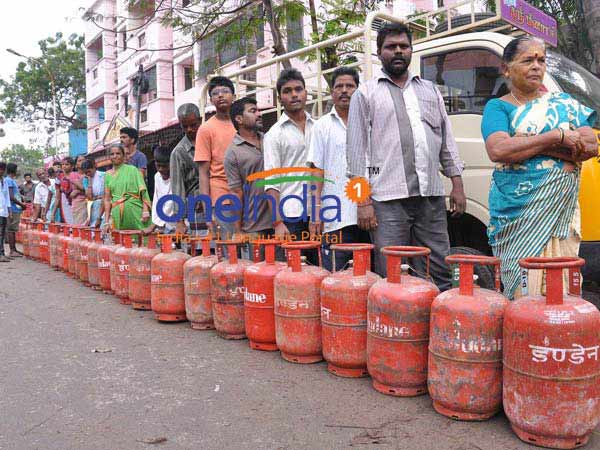 LPG Cylinder price slashed