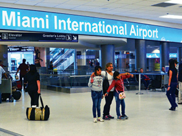 UP man threatens Miami airport