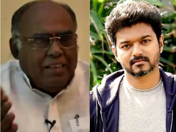 Pazha Karuppaiah says Vijay will definitely enter into Politics