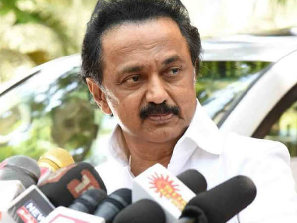 Destruction By Demonetisation is one man-made disaster for India says MK Stalin