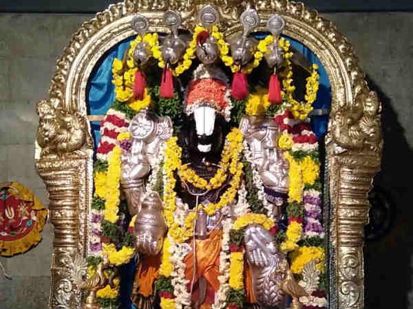 ஸ்ரீ தன்வந்திரி பீடத்தில் சொர்க்கவாசல் திறப்பு -  லட்ச ஜப மகா சுதர்சன ஹோமம்