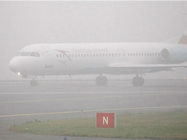 fog impacts flights operations at delhi airport, passengers suffered