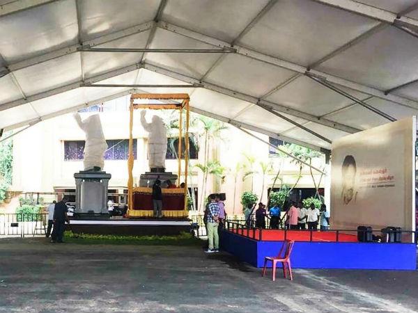 சென்னையில் பலத்த பாதுகாப்பு.. கருணாநிதி சிலை திறப்பு விழாவால் செம அலர்ட்