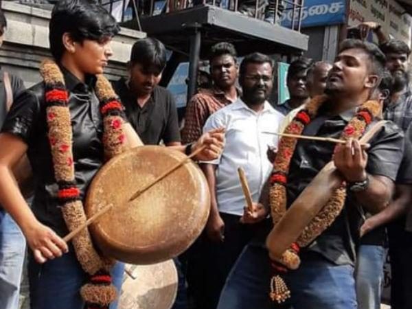 அதிர வைத்த பறை.. ஓங்கி ஒலித்த இசை.. இது கவுசல்யா வாழ்வின் போராட்ட கீதம்!