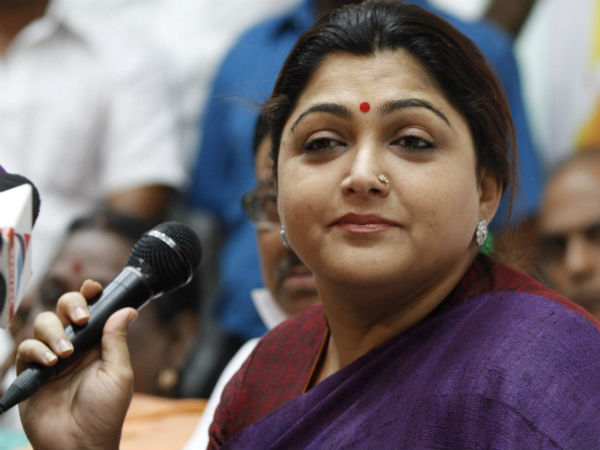 actress kushboo condemns actor vishal arrest in producer council issue
