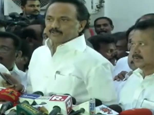 MK Stalin slam Tamilnadu government over Mekedatu resolution