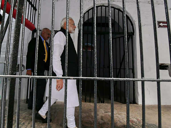 Modi in Andaman: PM visits Cellular Jail; Pays homage to Veer Savarkar, martyrs
