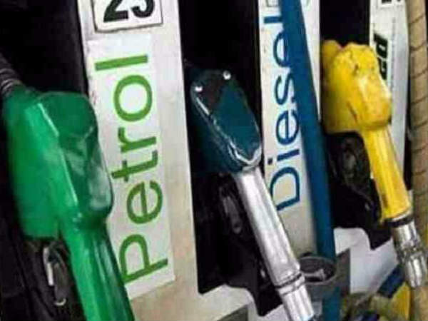 Petrol and diesel prices dropped