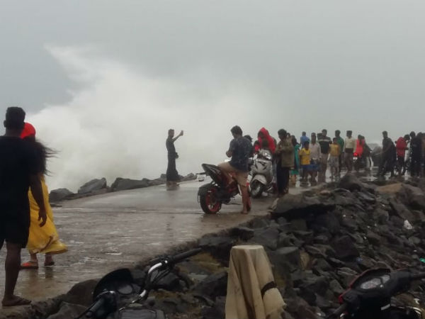 Phethai storm: Fishermens did not go to sea for fishing due to