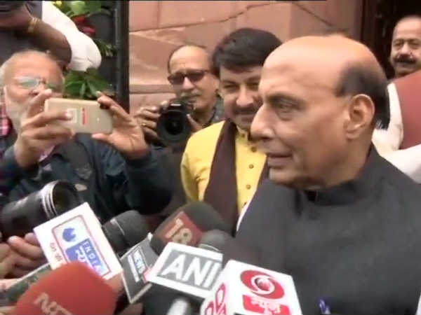 Polls were fought on state governments performance: Rajnath Singh