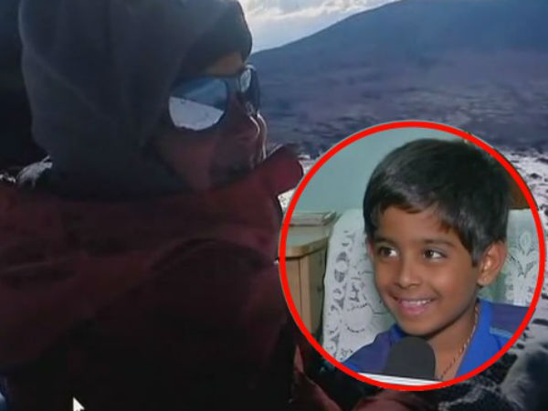 8 yr old Samanyu Pothuraju Climbed Mount Kosciuszko in Australia