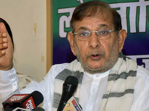 vasundhara raje has become fat, needs rest: sharad yadav