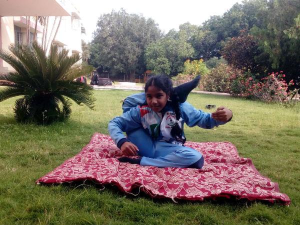 காமன்வெல்த் யோகா போட்டி: அரசு உதவிக்கு ஏங்கும் நெல்லை மாவட்ட பள்ளி மாணவி மிஸ்பா